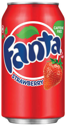 Лимонад Fanta Strawberry 0.355