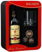 Bacardi Reserva Superior 8 Years + стакан 0.7 л